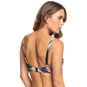 Roxy Printed Beach Classics Brassière UW D-Cup Femme, anthracite tropicoco s